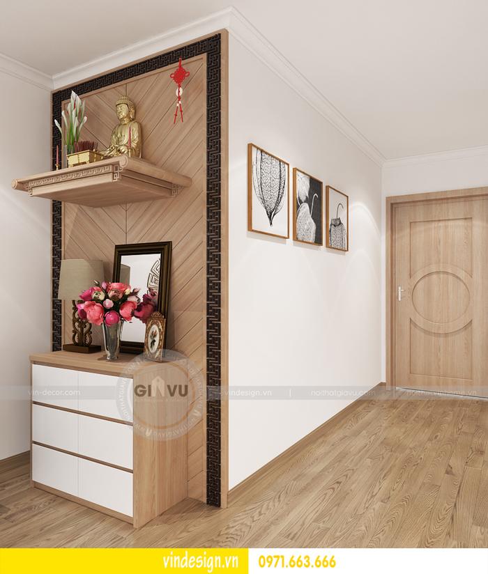 thiết kế nội thất căn hộ 2 phòng ngủ tại vinhomes d capitale 04