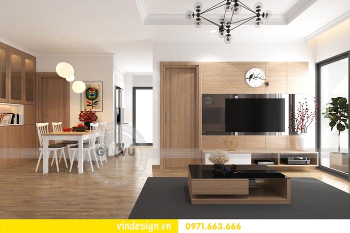 thiết kế nội thất căn hộ 2 phòng ngủ tại vinhomes d capitale 05