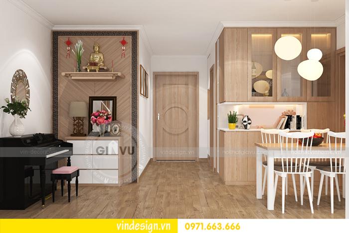 thiết kế nội thất căn hộ 2 phòng ngủ tại vinhomes d capitale 06