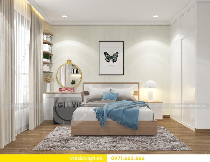 thiết kế nội thất căn hộ 2 phòng ngủ tại vinhomes d capitale 07