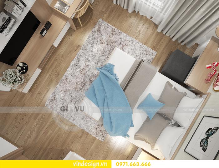 thiết kế nội thất căn hộ 2 phòng ngủ tại vinhomes d capitale 09