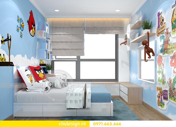 thiết kế nội thất căn hộ 2 phòng ngủ tại vinhomes d capitale 10
