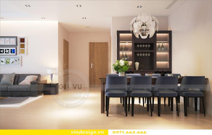 Thiết kế nội thất căn hộ 3 phòng ngủ tại vinhomes d capitale 03