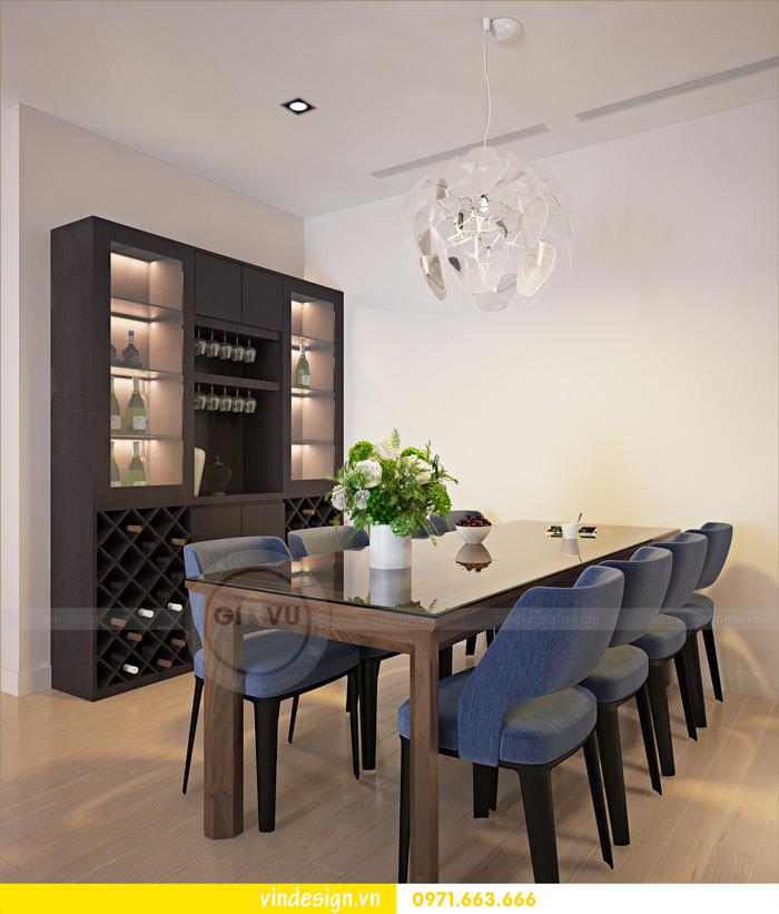 Thiết kế nội thất căn hộ 3 phòng ngủ tại vinhomes d capitale 04