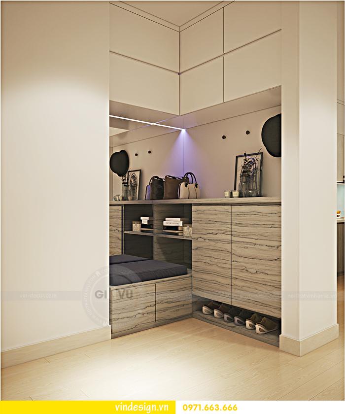 Thiết kế nội thất căn hộ 3 phòng ngủ tại vinhomes d capitale 05