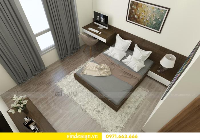 Thiết kế nội thất căn hộ 3 phòng ngủ tại vinhomes d capitale 07