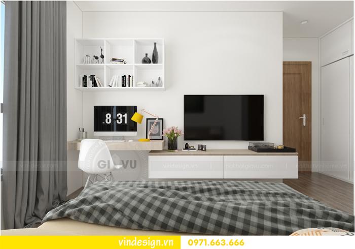 Thiết kế nội thất căn hộ 3 phòng ngủ tại vinhomes d capitale 11