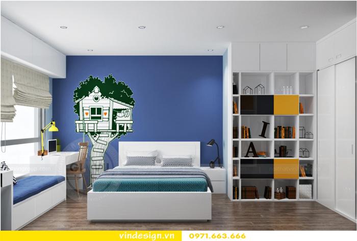 Thiết kế nội thất căn hộ 3 phòng ngủ tại vinhomes d capitale 13
