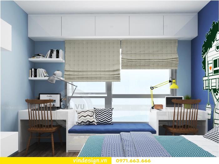 Thiết kế nội thất căn hộ 3 phòng ngủ tại vinhomes d capitale 14
