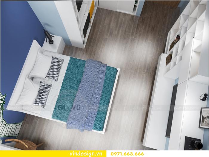 Thiết kế nội thất căn hộ 3 phòng ngủ tại vinhomes d capitale 15