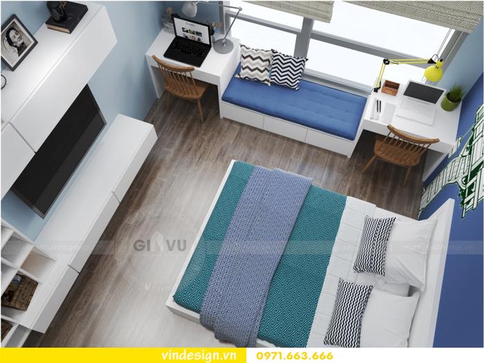 Thiết kế nội thất căn hộ 3 phòng ngủ tại vinhomes d capitale 16