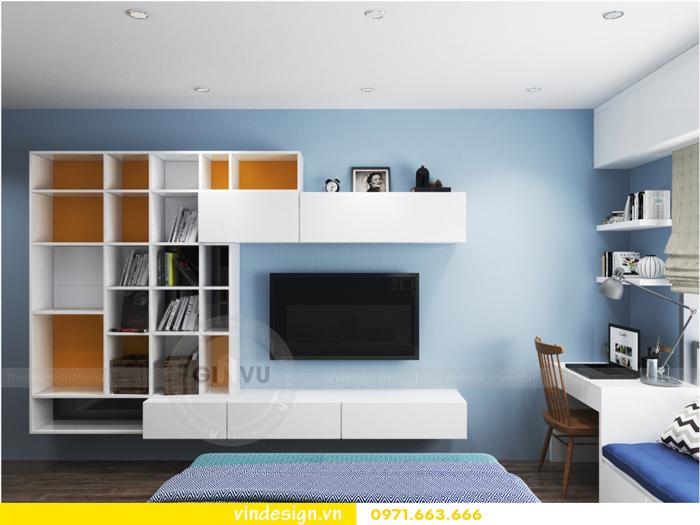 Thiết kế nội thất căn hộ 3 phòng ngủ tại vinhomes d capitale 17