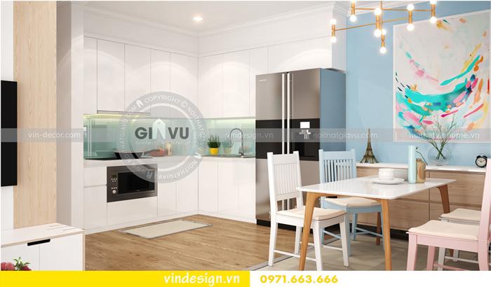 thiết kế nội thất căn hộ Gardenia tòa A1 01