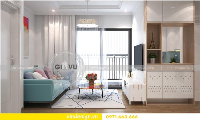 thiết kế nội thất căn hộ Gardenia tòa A1 05