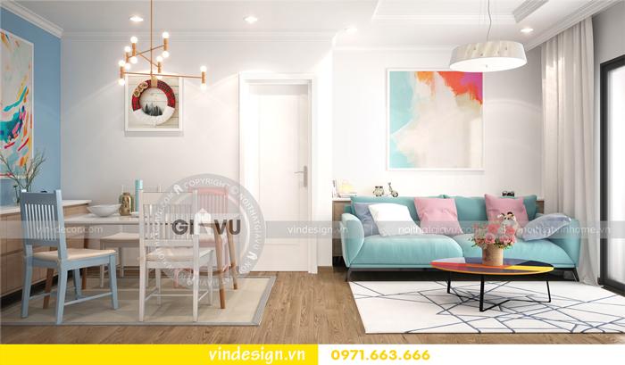 thiết kế nội thất căn hộ Gardenia tòa A1 06