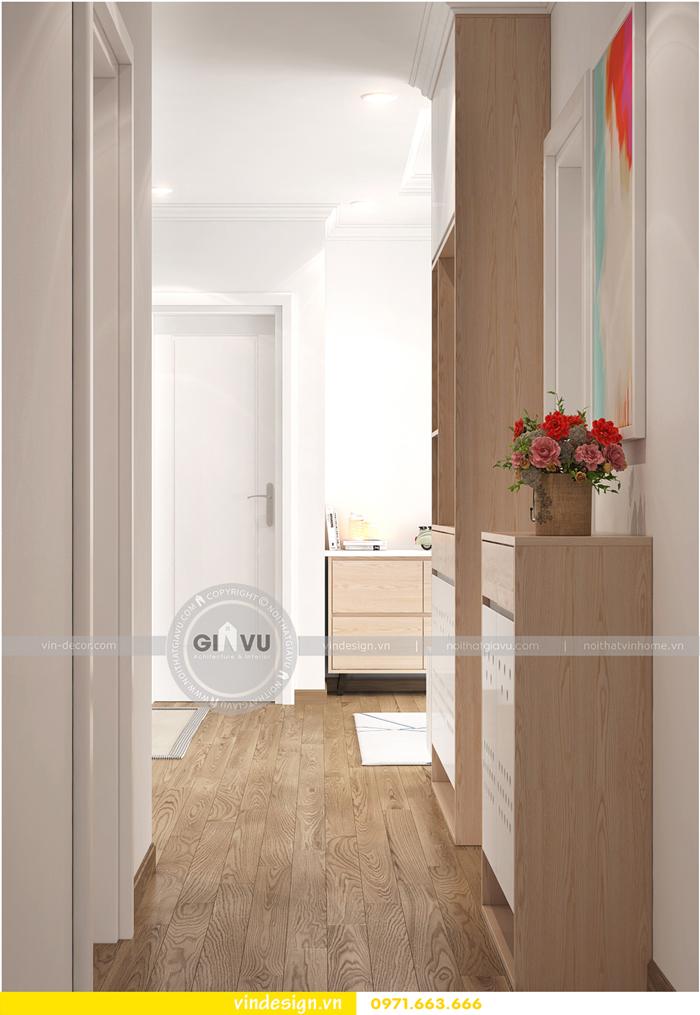 thiết kế nội thất căn hộ Gardenia tòa A1 07