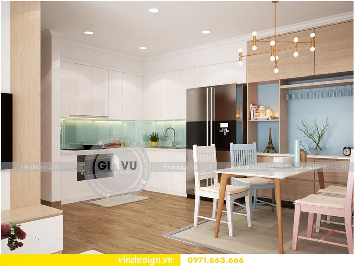 thiết kế nội thất căn hộ Gardenia tòa A1 08