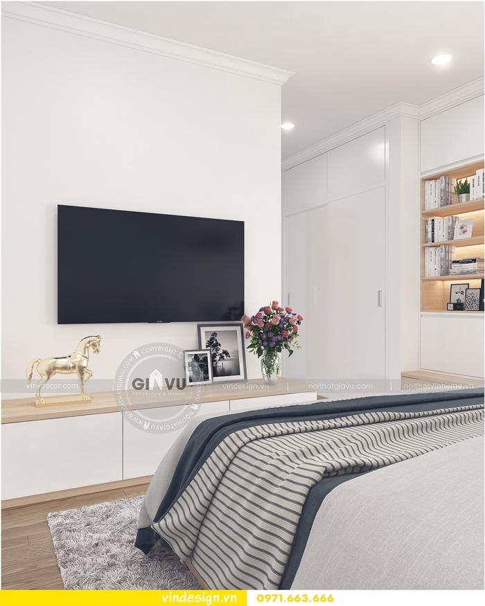 thiết kế nội thất căn hộ Gardenia tòa A1 12
