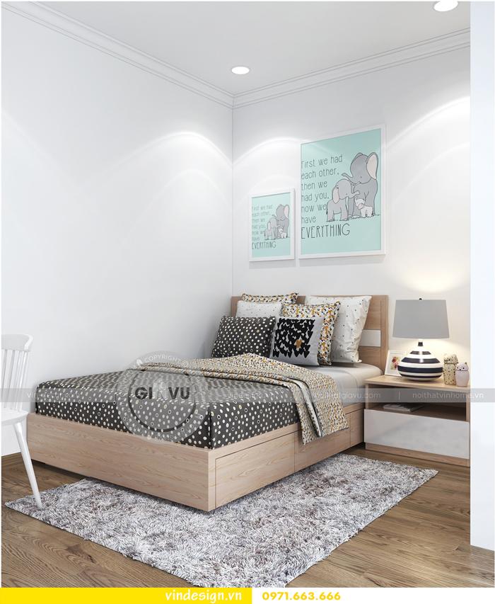 thiết kế nội thất căn hộ Gardenia tòa A1 13