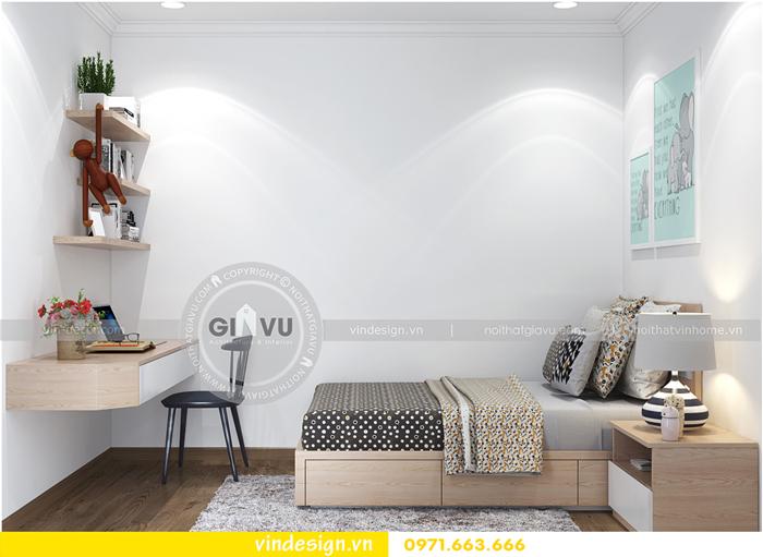 thiết kế nội thất căn hộ Gardenia tòa A1 14