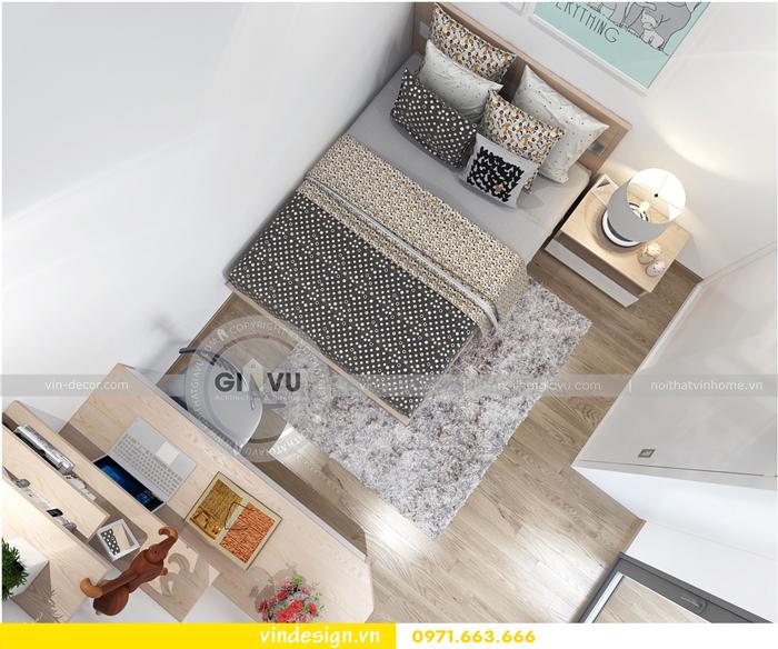 thiết kế nội thất căn hộ Gardenia tòa A1 15