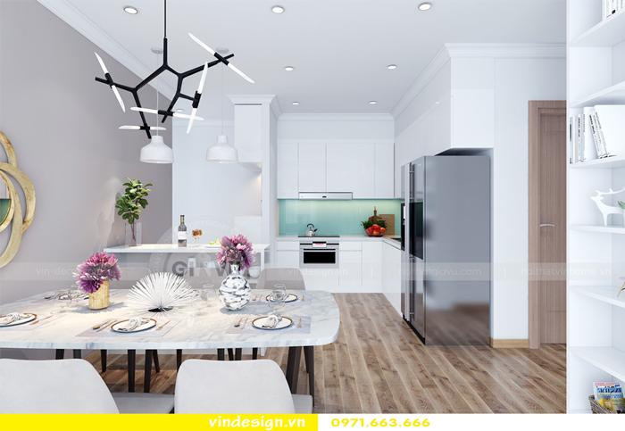thiết kế nội thất căn hộ Gardenia tòa A2 01