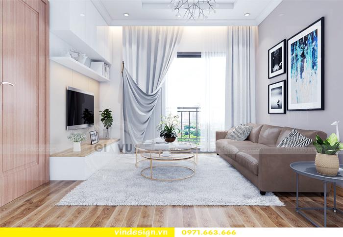 thiết kế nội thất căn hộ Gardenia tòa A2 02