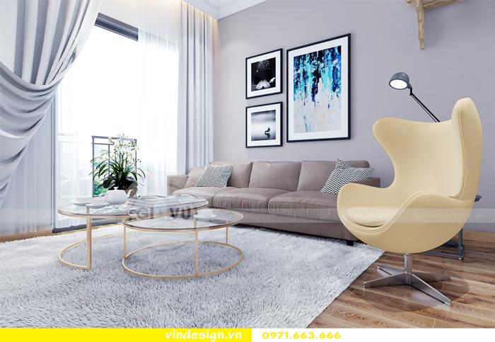 thiết kế nội thất căn hộ Gardenia tòa A2 03