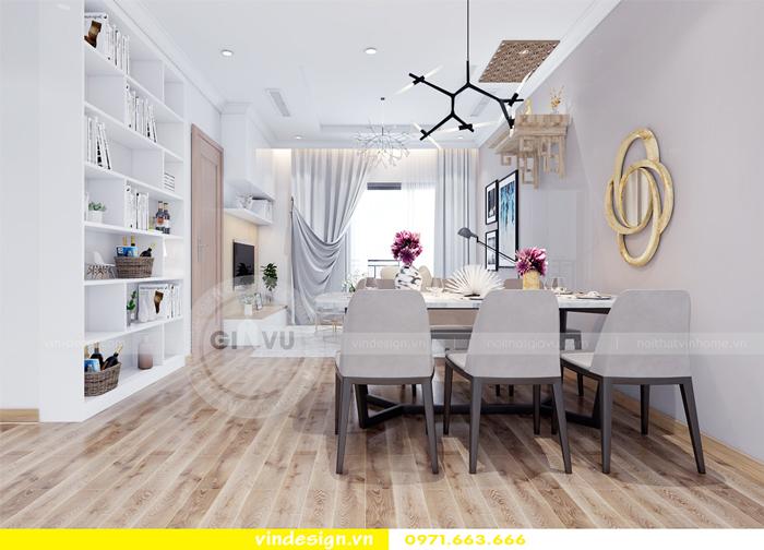 thiết kế nội thất căn hộ Gardenia tòa A2 04