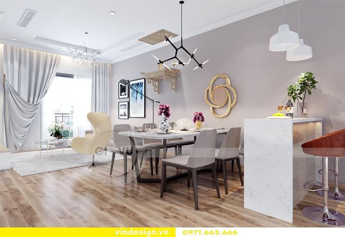 thiết kế nội thất căn hộ Gardenia tòa A2 05