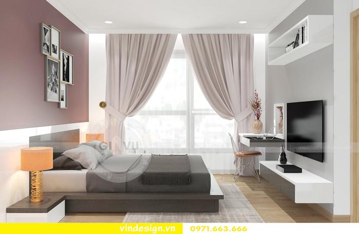 thiết kế nội thất căn hộ Gardenia tòa A2 07