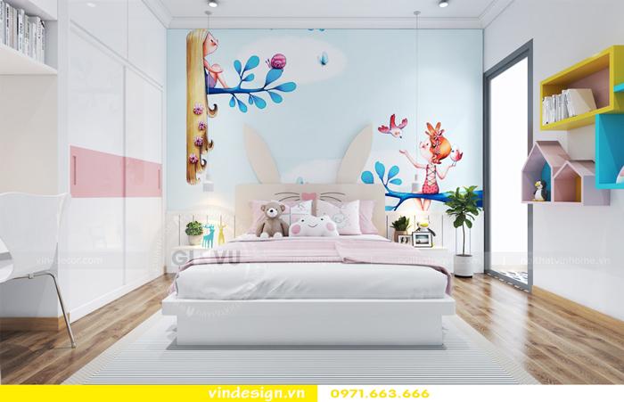 thiết kế nội thất căn hộ Gardenia tòa A2 08