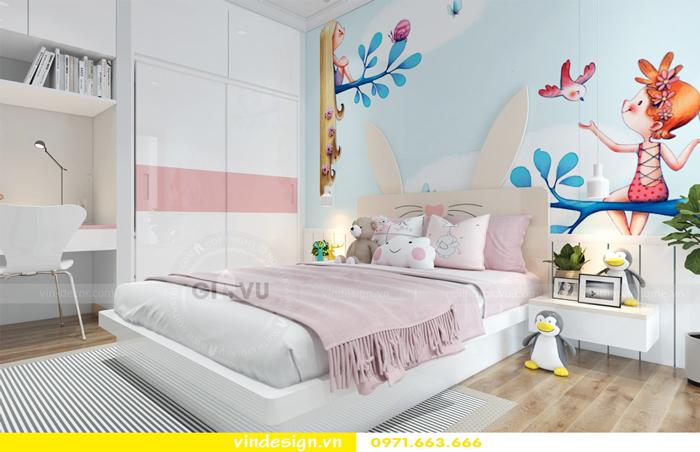 thiết kế nội thất căn hộ Gardenia tòa A2 09