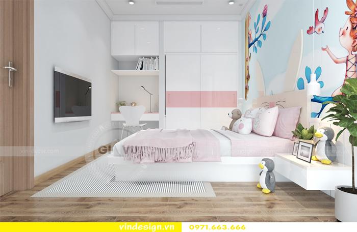 thiết kế nội thất căn hộ Gardenia tòa A2 10