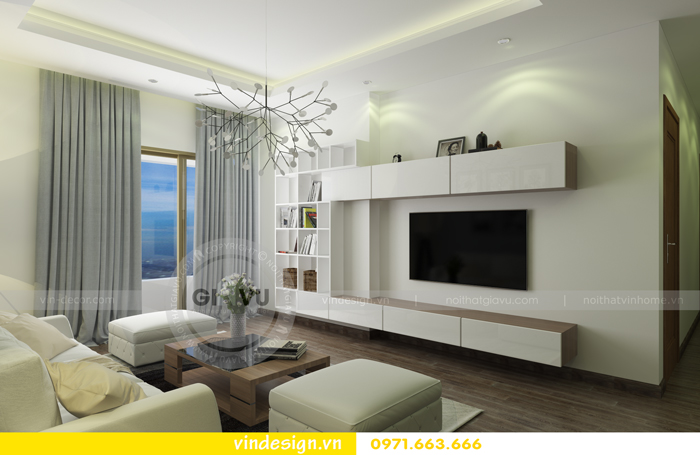 Thiết kế nội thất căn hộ d capitale tòa c1 01