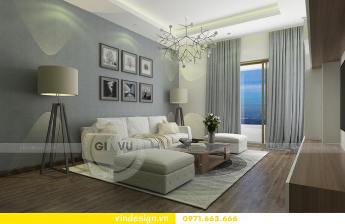 Thiết kế nội thất căn hộ d capitale tòa c1 02