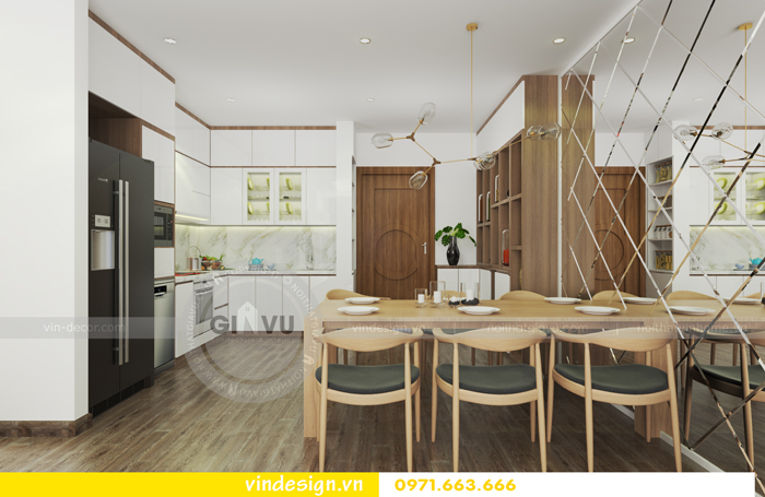 Thiết kế nội thất căn hộ d capitale tòa c1 06
