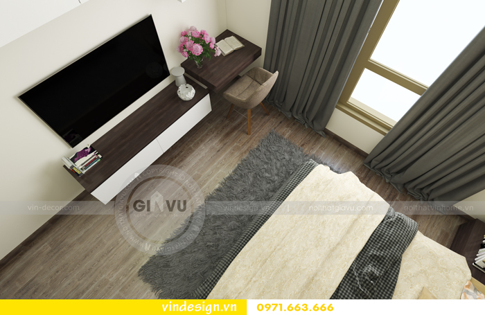 Thiết kế nội thất căn hộ d capitale tòa c1 08