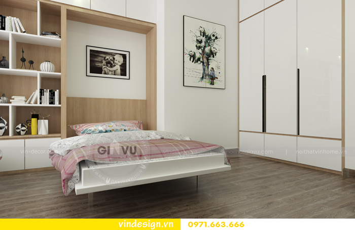 Thiết kế nội thất căn hộ d capitale tòa c1 15