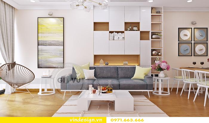 thiết kế nội thất căn hộ d capitale toa c6 vinhomes trần duy hưng 07