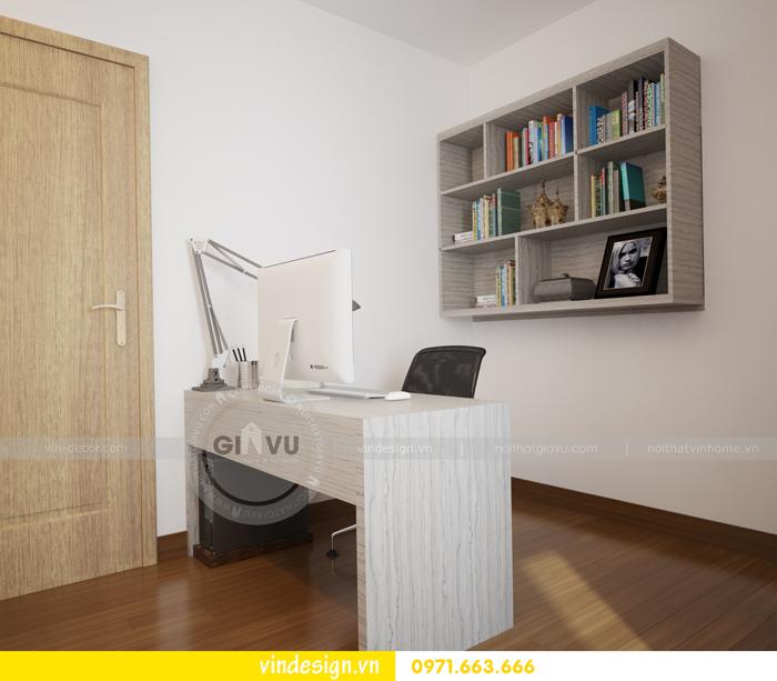 thiết kế nội thất căn hộ d capitale toa c6 vinhomes trần duy hưng 14