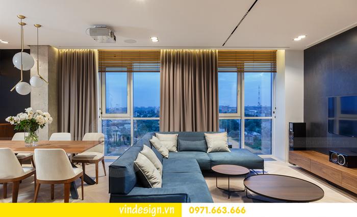 Thiết kế nội thất căn hộ Vinhomes Trần Duy Hưng 02