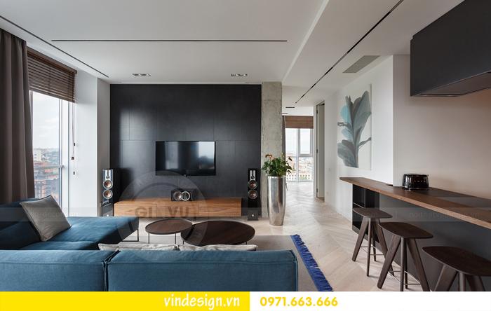 Thiết kế nội thất căn hộ Vinhomes Trần Duy Hưng 04