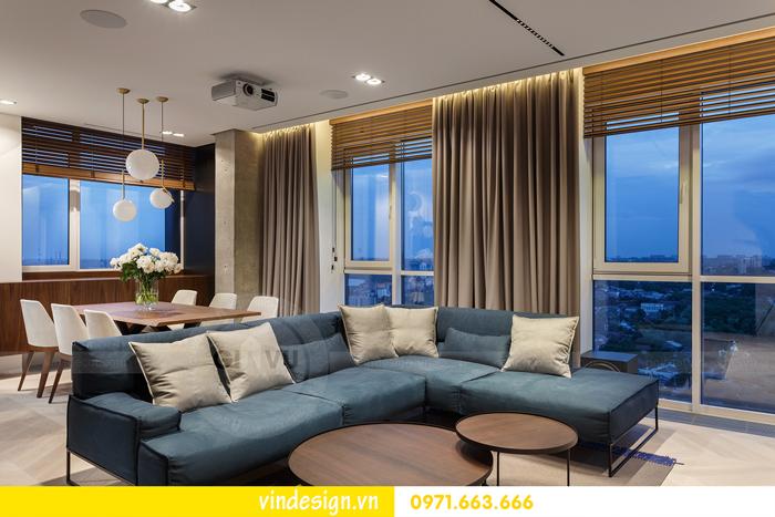Thiết kế nội thất căn hộ Vinhomes Trần Duy Hưng 05