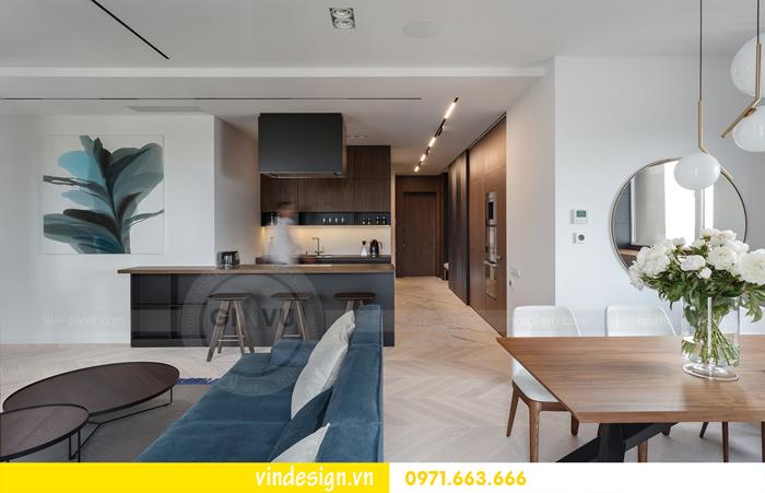 Thiết kế nội thất căn hộ Vinhomes Trần Duy Hưng 06