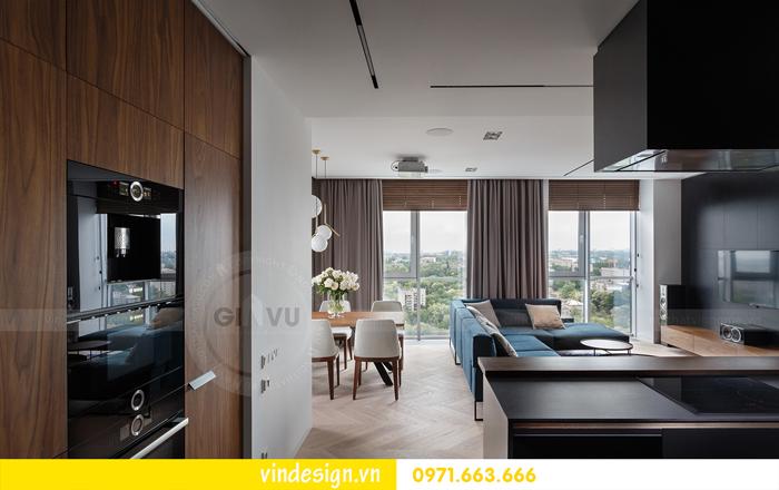 Thiết kế nội thất căn hộ Vinhomes Trần Duy Hưng 07