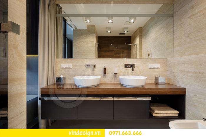 Thiết kế nội thất căn hộ Vinhomes Trần Duy Hưng 12