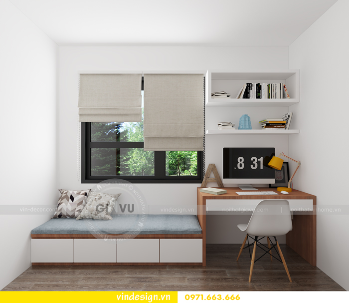 thiết kế nội thất chung cư d capitale tòa c7 13