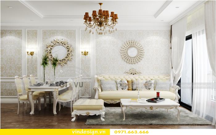 thiết kế nội thất chung cư 2 phòng ngủ đẹp vinhomes d capitale 01