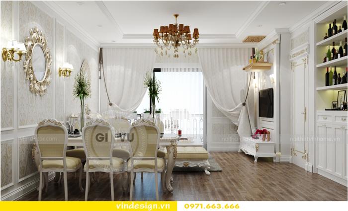 thiết kế nội thất chung cư 2 phòng ngủ đẹp vinhomes d capitale 02